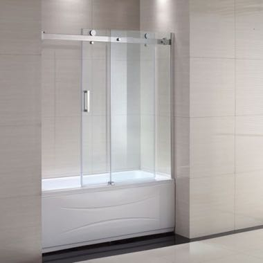 clear glass shower doors surrey bc