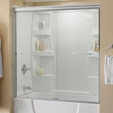 walk in shower clear glass supplier surrey bc